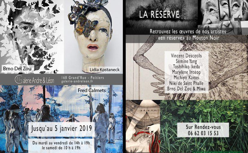 La réserve de la galerie Andre&Léon