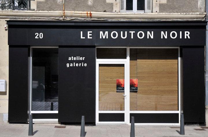 façade de la galerie